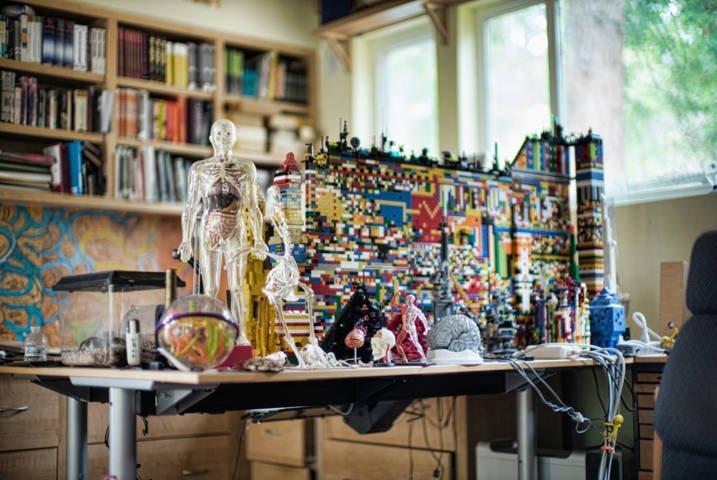 La stanza di Kevin Kelly