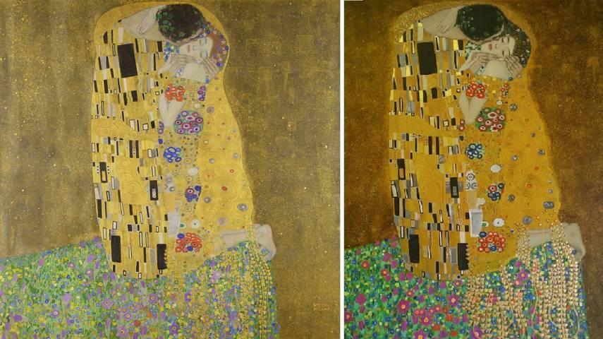 Cosa non può essere copiato - Kevin Kelly - Copia de bacio di Klimt