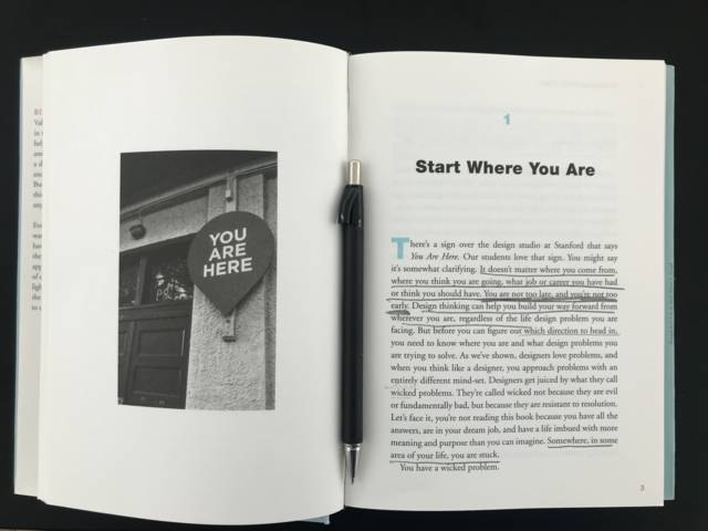 Book confidential - Start where you are
