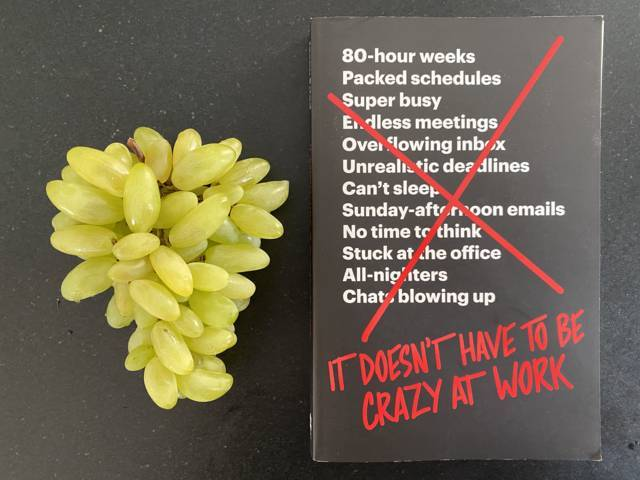 Jason Fried - It doesn't have to be crazy at work