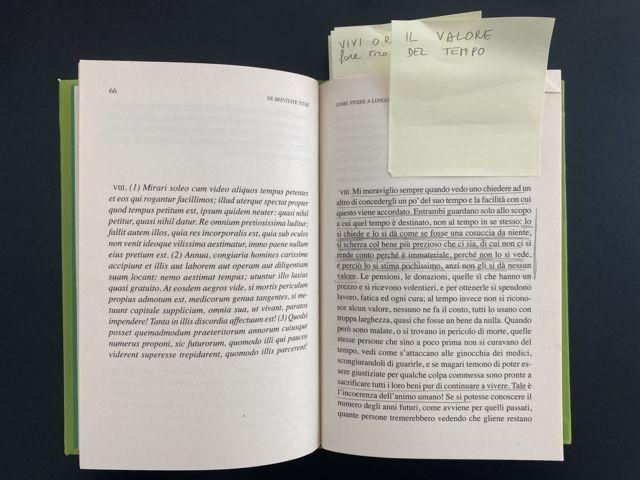 Seneca, De Brevitate Vitae, il valore del tempo - appunti