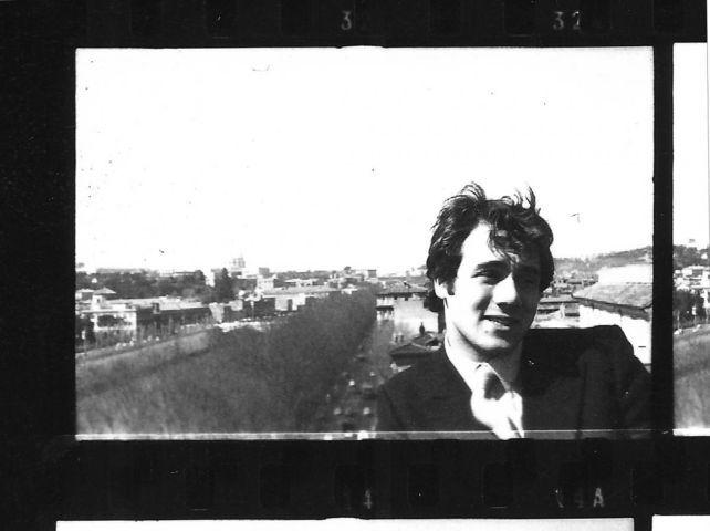 Carlo Verdone La Carezza della memoria, Sul terrazzo condominiale di casa Verdone. La Foto è stata scattata da Maria F.