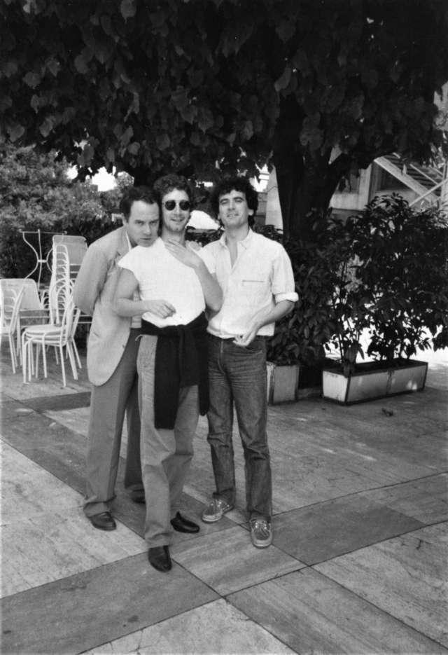 Carlo Verdone La carezza della memoria libro, Foto con Francesco Nuti e Massimo Troisi a Torino