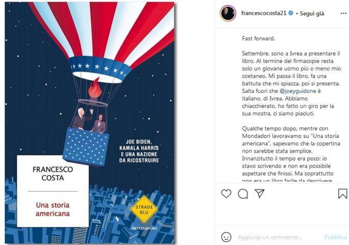 Una storia americana libro copertina