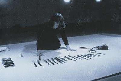 Marina Abramovic Performance Art Rhythm 10